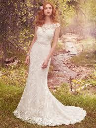 lightweight gatsby gowns for a summer wedding