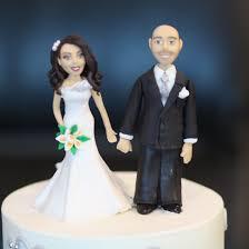 Custom Designed Bride and Groom Wedding Cake Topper