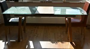 esszimmer glastisch ausziehbar