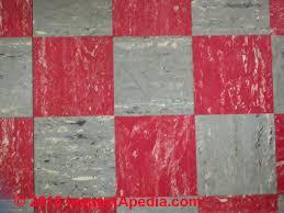 Red And Gray Vinyl Asbestos Floor Tiles Armstrong C Daniel Friedman