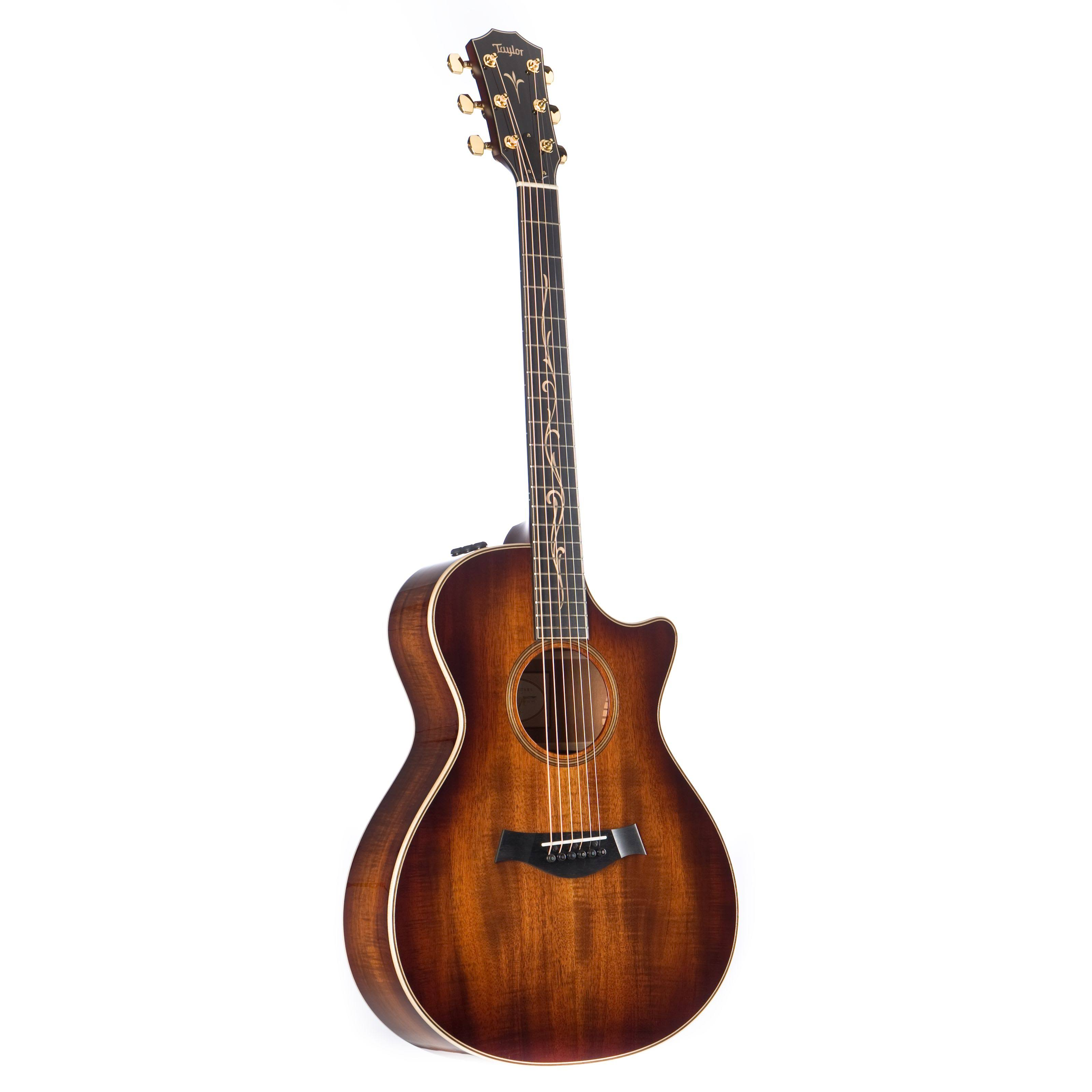 Taylor K22ce Grand Concert Acoustic-Electric Guitar Shaded Edge Burst