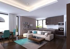 modern apartment living room design Elegant Modern Apartment