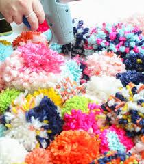 DIY It A Cozy Pom Pom Pillow A Kailo Chic Life