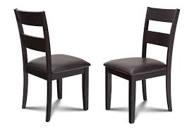 100 Black Leather Side Dining Chairs Alcott Hill Charlestown Faux Chair Wayfair