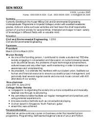Chemical Engineers CV Examples
