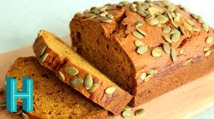 Starbucks Pumpkin Loaf Ingredients by How To Make Pumpkin Bread Hilah Cooking Youtube