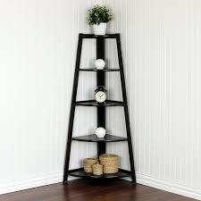 corner shelf for living room design home ideas pictures
