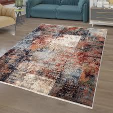teppich wohnzimmer industrial look