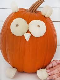 Owl Pumpkin Template by Cute Owl Pumpkin Hgtv