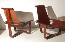 Equipale Chairs Los Angeles by Westnofa Vestlandske Bentwood And Leather Chairs At 1stdibs