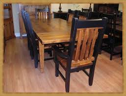 Dining Room Furniture In Southwestern Style Built In New