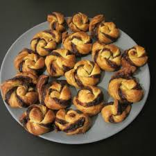 torsades feuilletées nutella choutambouilletout