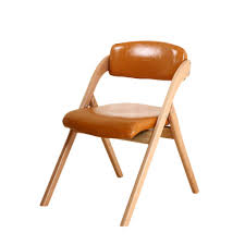 Amazon.com: Maimai Stools TD26 Folding Chair Solid Wood PU ... Qyyczdy Folding Ding Chair Wooden Faux Leather Backrest Stool 1960s Italian Chrome Chairs By Elios Lane Bonded Set Of 2 Christopher Knight Home Tanner Goods Nokori Man Many Pair Fauxbamboo Campaign With Handstitched Achica Teak Chair Tripolina Cowhide Transfer Chair Lassen Saxe Oak Wood Natural Leather Chairs Oslo Folding Boconcept Palermo Tripolina