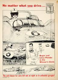 100 Penske Truck Coupon 1963 Ad Dupont Zerex Antifreeze MR8 Roger Lissa Formula 1
