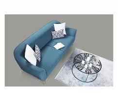 lucca sofa 3 sitzer polyester türkis