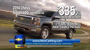 Lease The 2014 Chevy Silverado 4WD Double Cab From The New Car King ... Progressive Auto Specials 2 New Used Chevy Vehicles Nissani Bros Chevrolet Cars Trucks For Sale Near Los Angeles Ca 2018 Silverado 1500 Current Lease Offers At Tinney Automotive Truck Best Image Kusaboshicom Miller A Minneapolis Prices Bruce In Hillsboro Or A Car Deals In Miami Autonation Incentives And Rebates Buff Whelan Sterling Heights Clinton Township Month On 2016 Gmc Metro Detroit