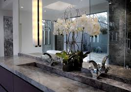 Trough Sink With Two Faucets by Luxury Marble Tile Trough Sink Two Faucets Mixed White Orchid