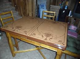Image Of Antique Metal Kitchen Tables