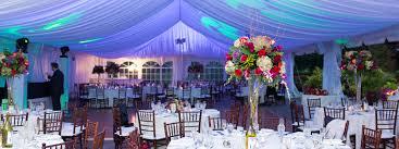 Wedding Tented Reception And Outdoor Ceremonies