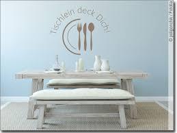 wandspruch tischlein deck dich wandtattoo für küche