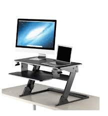 Humanscale Standing Desk Converter by Neutral Posture Sit Stand Desk Converter Standup X1