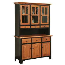 Fresno Collection Dining Hutch Amish Crafted Furniture
