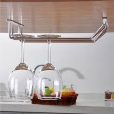 Under Cabinet Stemware Rack by Home Design Building Wall Mounted Wine Glass Rack Bigmandrake