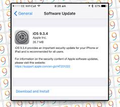 Apple releases iOS 9 3 4 important security update for iPhone
