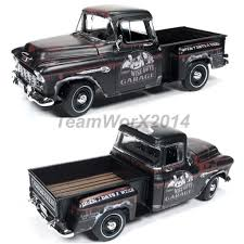 100 Stepside Trucks AUTOWORLD AWSS115 1955 CHEVROLET STEPSIDE PICKUP TRUCK THE THREE