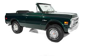 1969 Chevrolet Blazer K5 Awesome Truck 4-Speed -