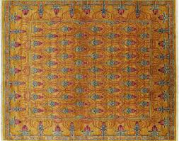 Arts and Crafts Oriental Hand Knotted Area Rug 8 X 10