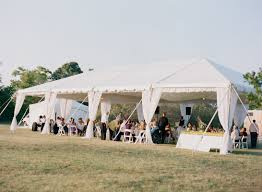 Outdoor Vintage Garden Wedding Washington DC Reception Tent