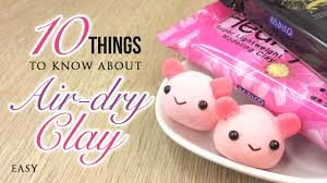 10 Things You Must Know About Air Dry Clay