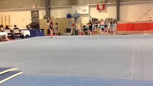 Usag Level 3 Floor Routine Tutorial by Trinity 7 Year Old Level 3 Usag Usa Gymnastics 1st Place Floor