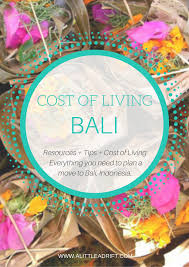100 Word Of Mouth Bali Cost Of Living How Much To Live In Indonesia In 2019