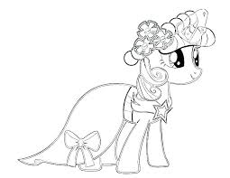 Equestria Girls Coloring Pages Twilight My Little Pony Sparkle 2 Book For Adults