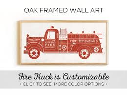 100 Fire Truck Wall Art 68 Unique Decor Ideas For S Inspirations