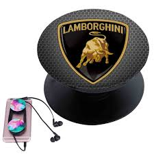 Lamborghini Custom Popsocket Pop Out Grip Stand Pop Socket For
