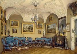kunstdruck gatschina schloß wohnzimmer e p hau eduard petrowitsch hau auf aquarell