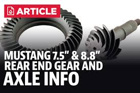 Mustang Factory Rear Gear Ratios & Info - LMR.com Working Trucks Jim Carter Truck Parts Id A 19992016 Ford Sterling 105 Rear Axle My 851991 F350 Dana 60 Front Differential Idenfication Learn How To Identify What Type Of Shaft Length And Bolt Circle Measurement Sierra Gear Boltin Rearend Buyers Guide Hot Rod Network Determine Differential Gear Ratio Without Rpo Code Blazer Chevy 10 End Chart Lovely Rebuilding An 01 Texas Shdown 2016 Max Towing Overview Piuptruckscom News 10bolt Know Youre Looking At Amazoncom 1988 1998 Chevrolet C1500 Gmc 6 Do I Identify 1948 Ford 1 Ton From 12