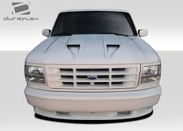Duraflex CVX Hood - 1 Piece For 1992-1996 Ford F-150 / Bronco ...