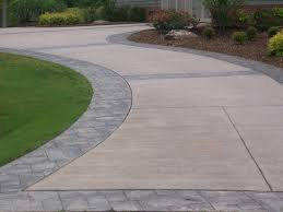 Arizona Tile Ontario Slab Yard by Stamped Concrete Driveways Ideas Best Stamped Concrete Vs Pavers