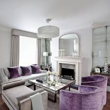 Grey And Purple Living Room Curtains by Marvellous Purple Living Room Decor In With Black Rail Purple