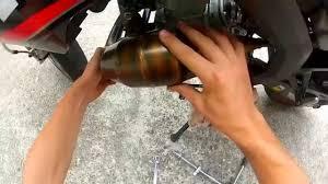 tuto 6 monter un pot passage haut sur 50cc hd