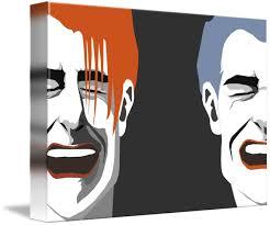 Laughing Men By Garman Fong