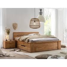 2 tlg schlafzimmermöbel set kramer gracie oaks maße 82 cm h x 200 cm b x 200 cm t colour kernbuche