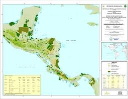 Biosphere Reserves Of Central America Map 2005