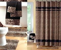 Zebra Print Bathroom Accessories Uk by Zebra Print Bath Sets Telecure Me