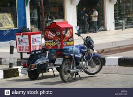 Kfc And Pizza Hut Delivery Bikes In Sharm Egypt