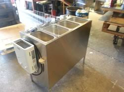 Mobile Self Contained Portable Electric Sink by Ultimate Dog Cart Product Page Concession Sink Ultimate